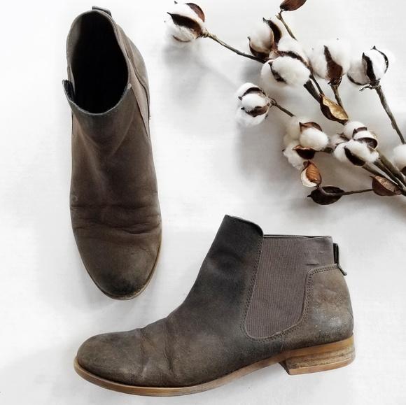 Franco Sarto Shoes - Franco Sarto Kabrina Distressed Ankle Booties 8.5